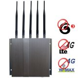 4G (Lte+Wimax) 3G GSM CDMA DCS PCS Cell Phone Jammer with Remote Control