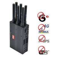 Cell phone jammer with cooling fan | 6 Bands All Remote Controls Jammer & RF Jammer (315/433/868/915MHz)