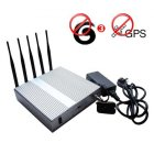 Advance High Power 3G Mobile Phone + GPS Jammer with Remote Control 40 Meters