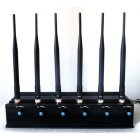 Adjustable RF Jammer + Wifi 2.4G 5G Jammer + GPS L1 L2 Blocker 40 Meters