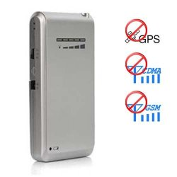 Mini Cell Phone Jammer + GPS Blocker Cell Phone Shape