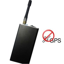 Portable Car GPS Jammer 10 Meters