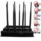 Adjustable Cell Phone 4G 3G Wifi VHF UHF Signal Blocker