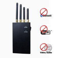 Wifi + Bluetooth + Wireless Video Audio Blocker Jammer 20 Meters