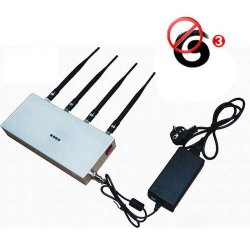 Remote Control 3G Cell Phone Signal Jammer 20 Meters