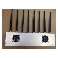 8 Antennas 30W High Power 8 Bands 2G 3G 4G 5G WIFI Cell Phone Jammer