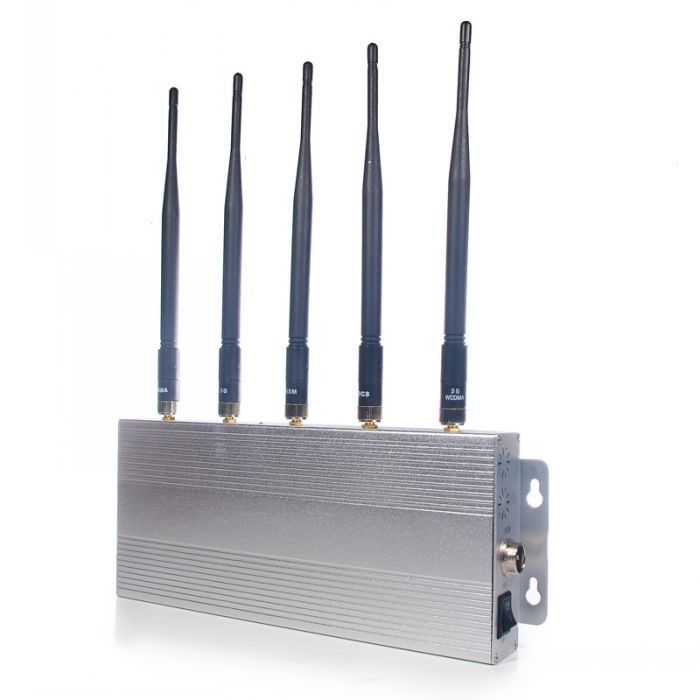 12W High Power 3G + GPS + Wifi Signal Blocker 40 Meters