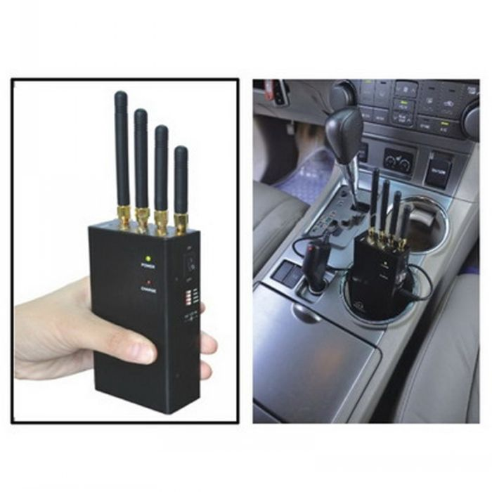 Portable 4G Wimax 3G Mobile Phone Jammer with Cooling Fan