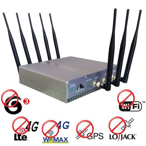 12 Antennas 2G Jammer - 2G scrambler oil equivalent