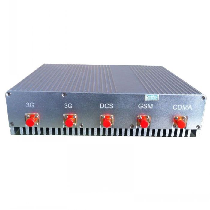 15W High Power 4G (Lte+Wimax)+ Wifi + VHF UHF Signal Jammer 50 Meters