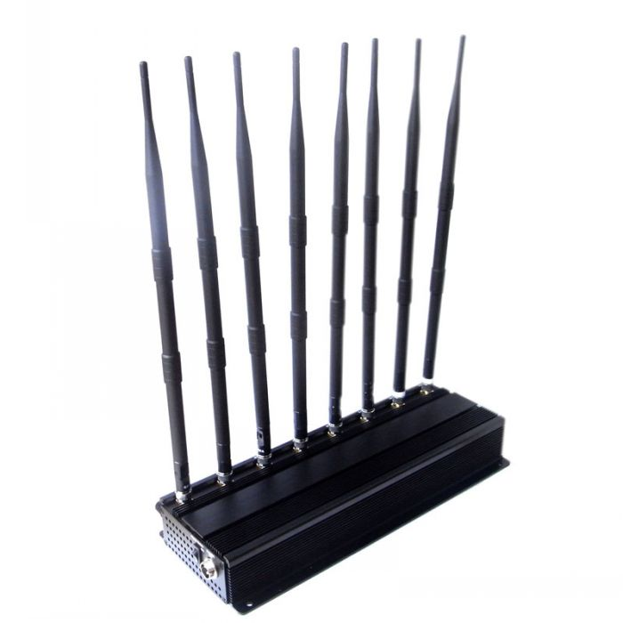 Advanced Adjustable Mobile Phone GPS Lojack Wifi Signal Jammer 60 Meters