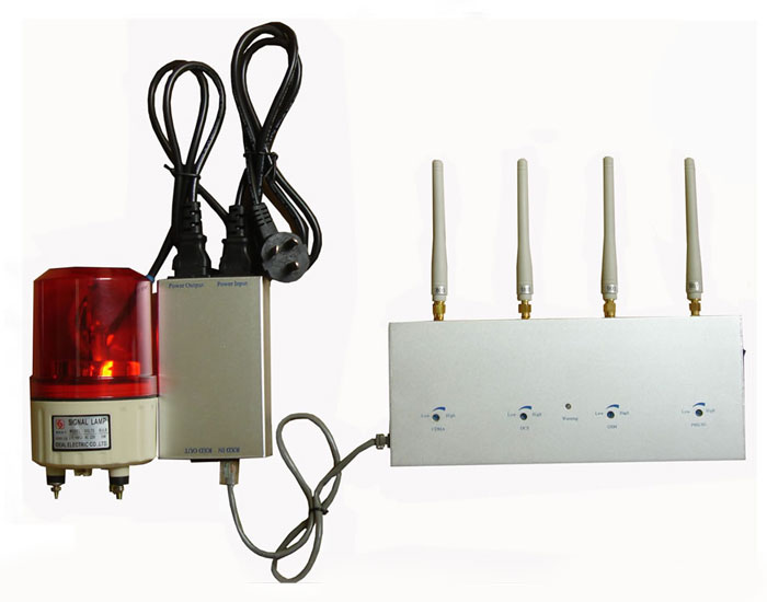 Cell Phone Signal Detector with Alarm System