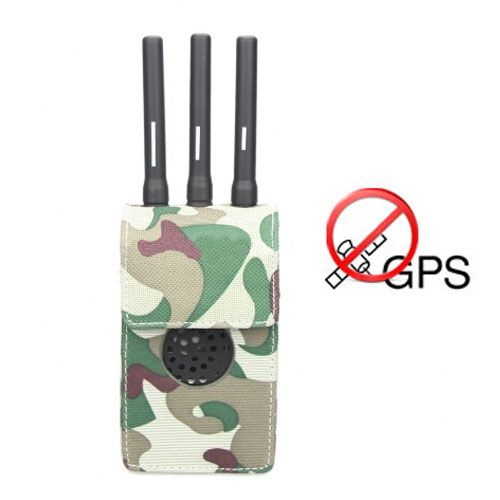 Advanced Portable GPS Signal Jammer 15 Meters