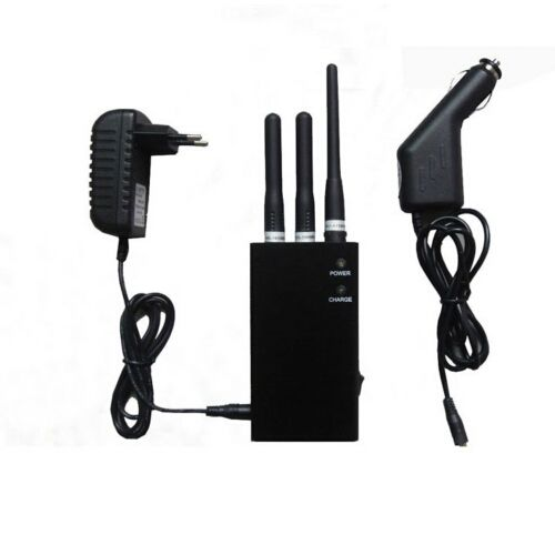 XM Radio + Lojack + 4G Wimax Cell Phone Jammer Portable