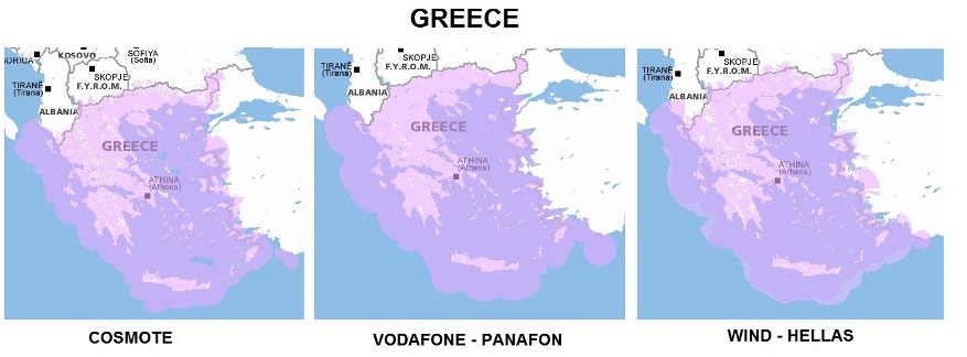 Greece-GSM-Coverage