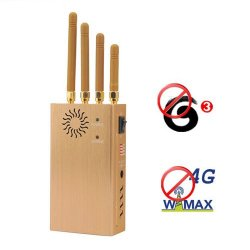 Portable 4G Wimax 3G Cellular Phone Signal Blocker Jammer