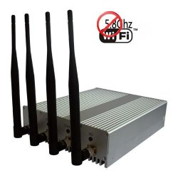 High Power Wifi 2.4G Wifi 5.8G Signal Jammer Blocker 40 Meters
