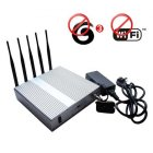 Advance High Power 3G Mobile Phone + Wifi Jammer with Remote Control 40 Meters