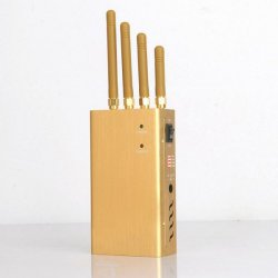 Portable GPS(L1 L2 L3 L4 L5) All Frequency Signal Jammer