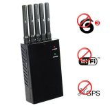 High Power Wifi + GPS + 3G Cell Phone Signal Jammer 15 Meters