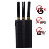 6 Antenna Portable 3G Jammer + GPS Jammer + Wifi Signal Jammer