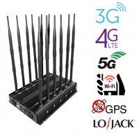 Audio blocker , 6 Antennas 4G LTE Blocker