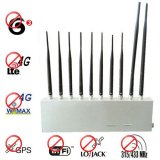 10 Antenna 3G 4G GPS Lojack Wifi 315Mhz 433Mhz All Signal Blocker Jamming Everything