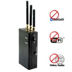 1G 1.2G 2.4G Wifi Bluetooth Wireless Video Blocker 15 Meters