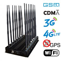 16 Antennas 35W Super High Power Full Bands Jammer,Blocking 130MHz to 2700MHz frequencies