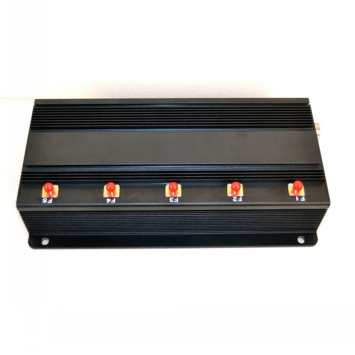High Power 3G Cellphone + GPS + Wifi Signal Jammer 50 Meters