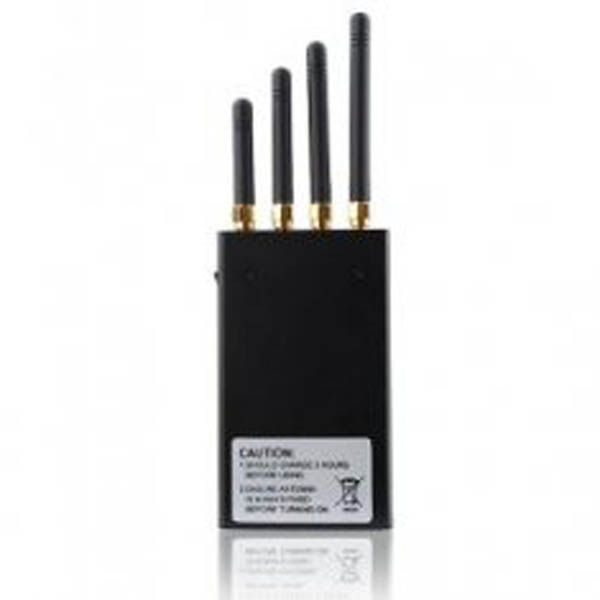 Portable 3G Cellphone Jammer + Bluetooth + Wifi Blocker 10 Meters