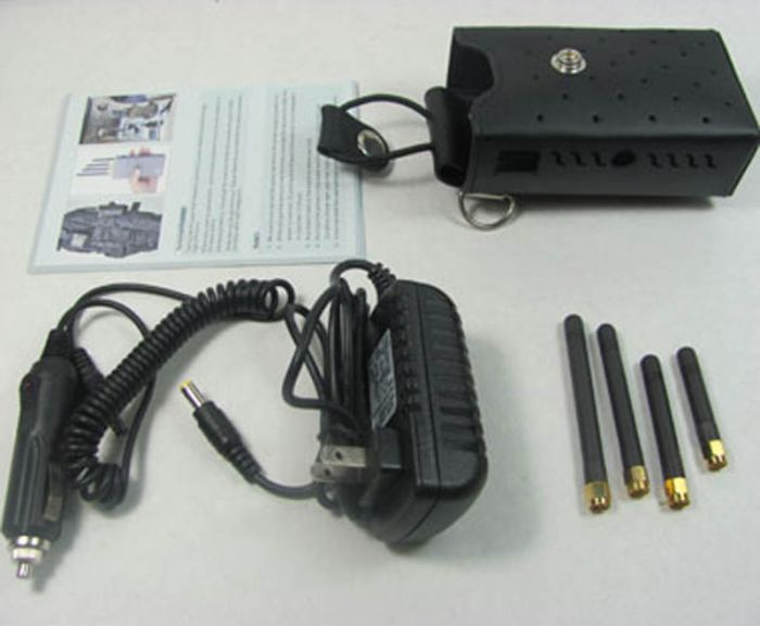 High Power Signal Jammer for GSM CDMA DCS PCS 3G Cell Phone