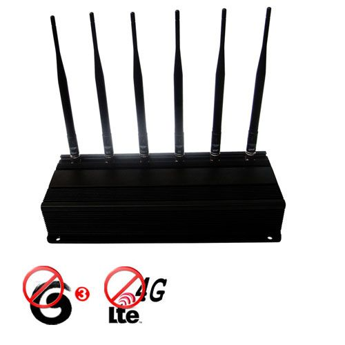 Adjustable High Power 4G lte 3G Cell Phone + 315MHz 433MHz Signal Blocker Jammer