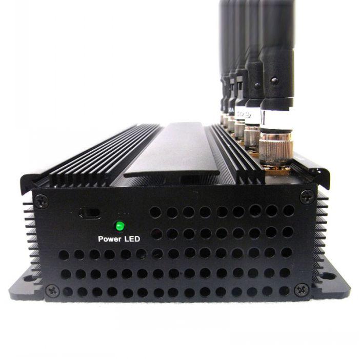 4 Antennas 2.4G Blocker - 5 Antennas 4G Jamming