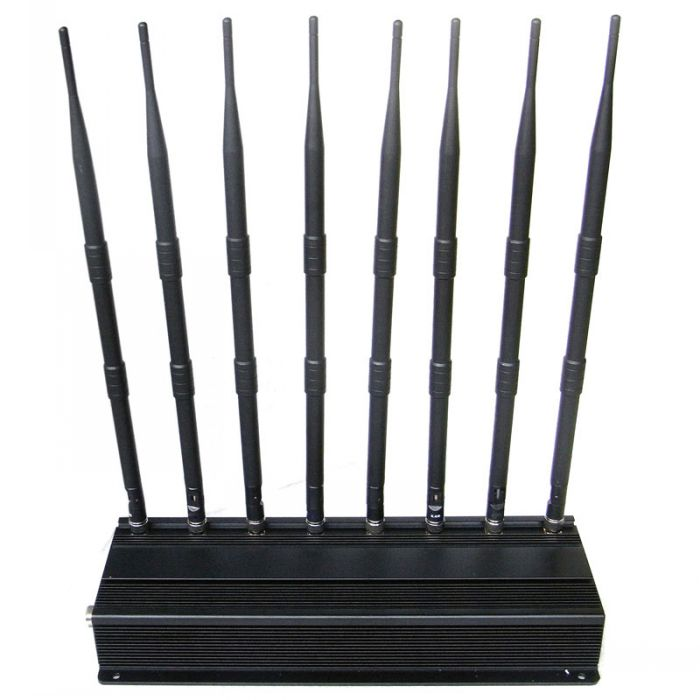 All in one Cell Phone GPS Lojack Wifi Jammer Blocker 60 Meters High Power