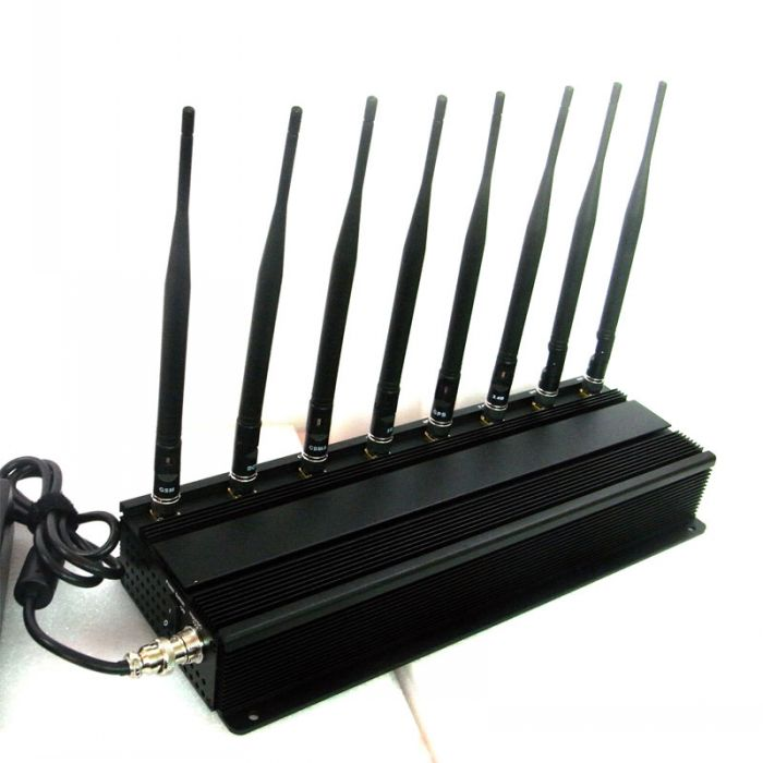 High Power Moible Phone Jammer GPS Blocker 315Mhz 433Mhz Scrambler