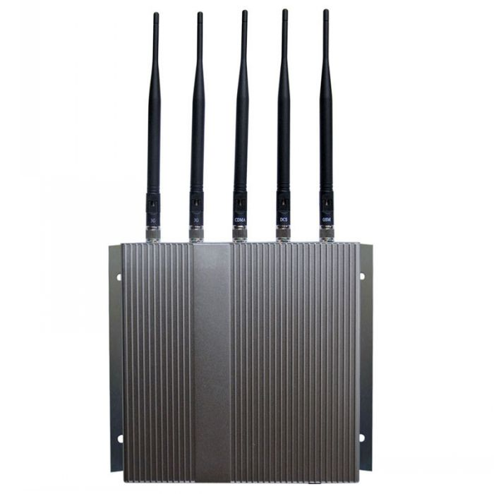 Remote Control Cellular Phone 4G lte + Wifi Signal Jammer