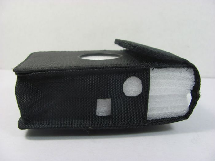 Black Fabric Material Portable Jammer Case