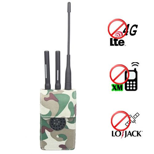 Cell phone blocker portable | 8 Bands Adjustable Powerful 3G Cellphone Jammer & WiFi GPS VHF UHF Lojack Jammer