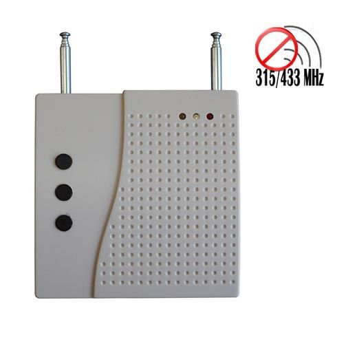Signal blocker Maryborough | Frequency Jamming Device - Portable High Power Remote Control Jammer(315/433MHz)