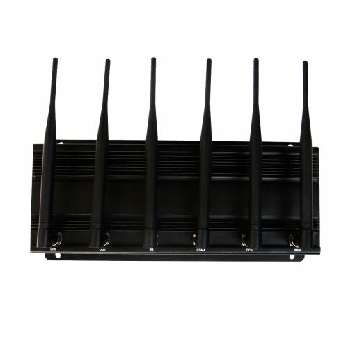 RC Jammer(315MHz/433MHz) + Wifi Blocker + Mobile Phone Jammer 40 Meters